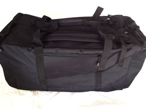 duffle bag backpack straps army navy style mossad duffle duffel bag back