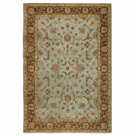decorators collection rugs home decorators collection bronte seaside blue 2 ft x 3 ft area rug 0255800310 the home depot