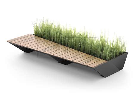 Penrose bench modern round zano street furniture