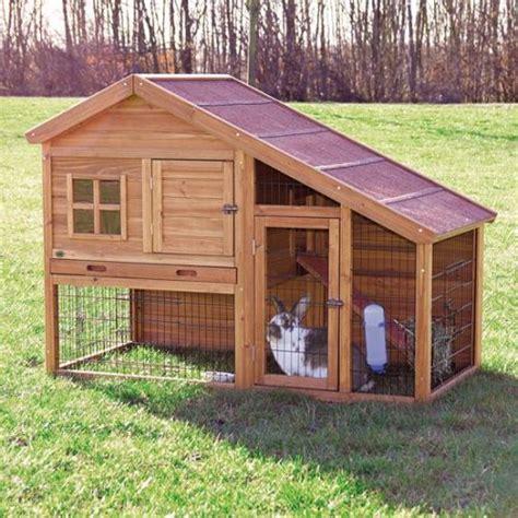 mon lapin peut il vivre dehors