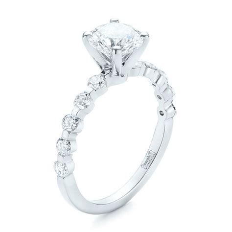 Tension Set Engagement Rings by Custom Tension Set Engagement Ring 102451