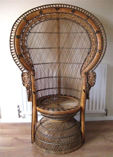 peacock armchair antiques atlas retro peacock chair
