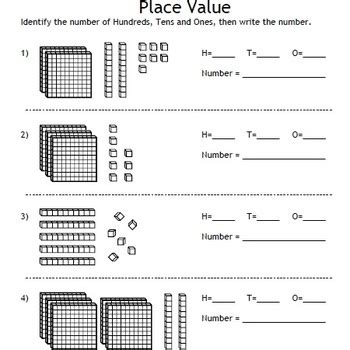 decimal house place value and decimals fonts base 10 blocks houses