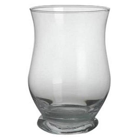 hurricane glass vase curved hurricane