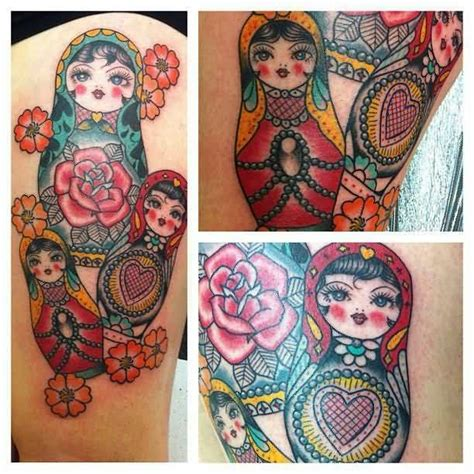 tattoo kings cross london matryoshka tattoo ideas and matryoshka tattoo designs page 3