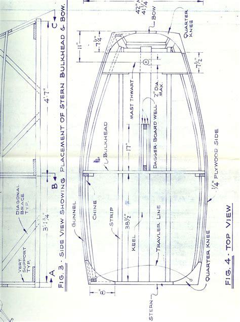 create building plans optimist pram 1948