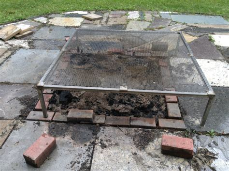 Incredible Large Fire Pit Grate Garden Landscape Pit Grate