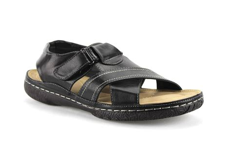 comfort dress sandals new mens outdoor dress sandals cushioned comfort footbed