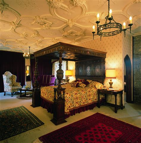Castle Bedroom by Thornbury Castle Tudor Castle Now 4 Hotel Near Bristol