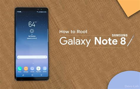 tutorial root note 8 how to install twrp and root samsung galaxy note 8 exynos