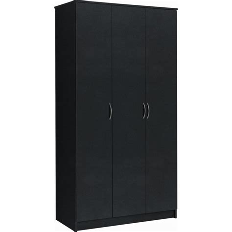Black Wardrobe Argos - buy collection cheval 3 door wardrobe black at argos co