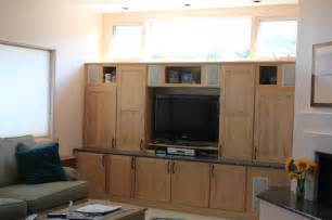 Using Kitchen Cabinets For Entertainment Center Hursig Kitchen Entertainment Center Master Bath Modern Entertainment Centers And Tv