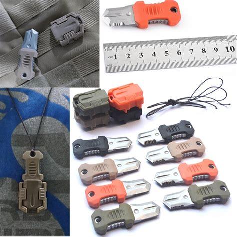 Kapak Survival Kit Edc Devense Black multifunction mini pocket edc self defense survival knife