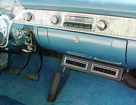 1955 chevy 210 sedan air conditioning system | 55 chevy