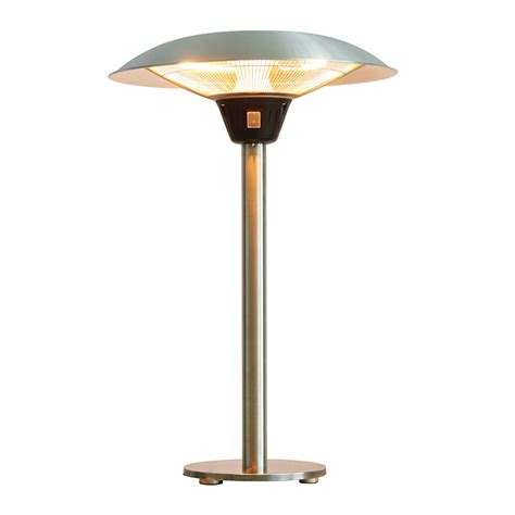 76cm Waterproof Floor Standing Outdoor Parasol Infrared Parasol Patio Heater