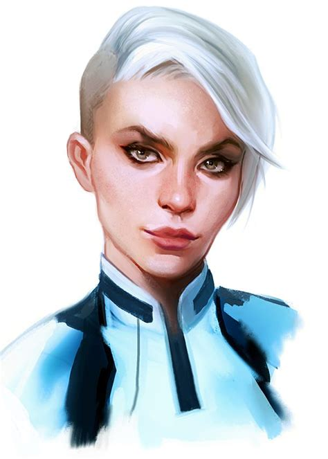 cora harper fan art by crystal graziano