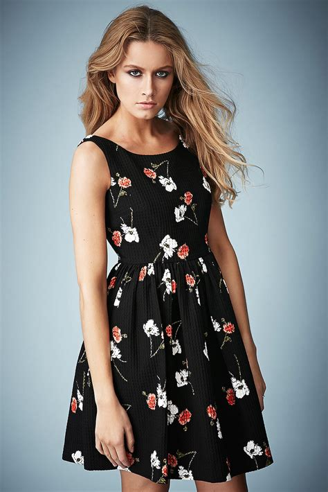 Floral Backless Top Like Kate Moss by Topshop Floral Print Sundress By Kate Moss For In Black Lyst