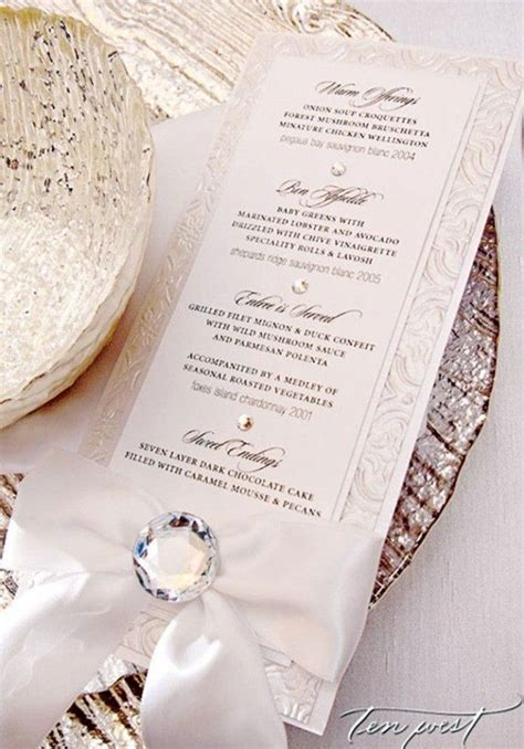 elegant formal dinner menu ideas elegant formal dinner menu for the wedding reception