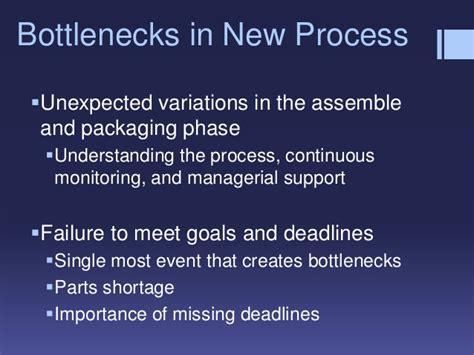 process design for riordan manufacturing assignment riordan manufacturing process improvement final