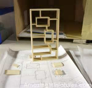 modern bookshelf plans making a modern dollhouse bookcase