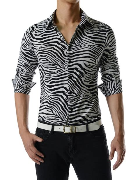 zebra pattern clothes comfortable unique zebra pattern long sleeve stretchy