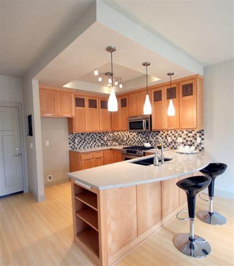 great modern kitchen design  small space modern