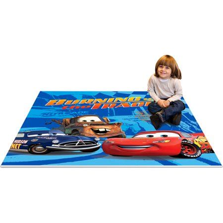 Disney Store Cars Play Mat - disney cars soft play mat 4 x 4 walmart