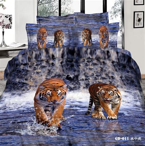 3d bedding best tiger king comforter sets 3d bedding set pillow covers duvet cases flat bed sheet