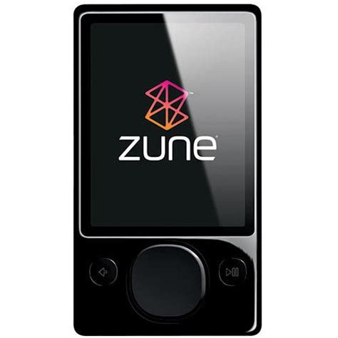 Zune Gift Card - microsoft zune digital media player 120gb black h3a 00001 b h
