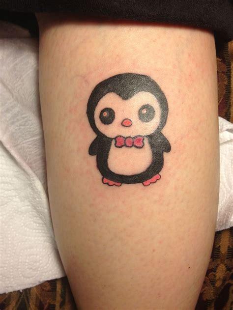 tattoo penguin my tattoo pengy the penguin tattoos pinterest