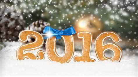 new year cookies 2016 2016 happy new year cookies snow wallpaper 1600x900