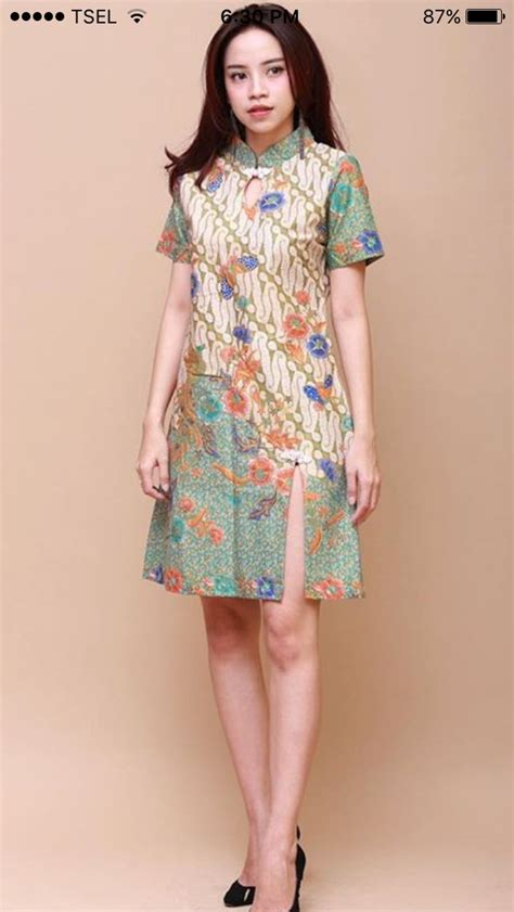Dress Batik by Best 25 Model Dress Batik Ideas On Falda