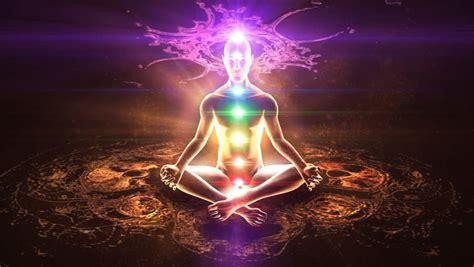 aura human energy body chakras stock footage video