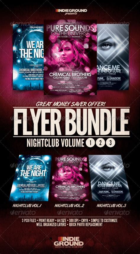 club flyers templates the gallery for gt nightclub flyers templates