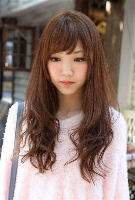 korean haircut for thick hair 47 super cute hairstyles for girls with pictures