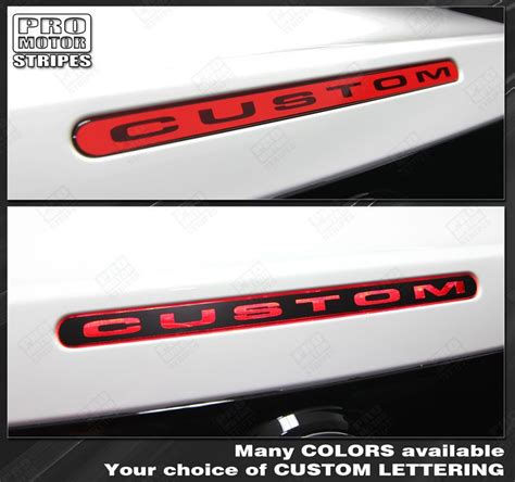 mustang 3rd brake light decal ford mustang third brake light overlay stripe 2013 2014