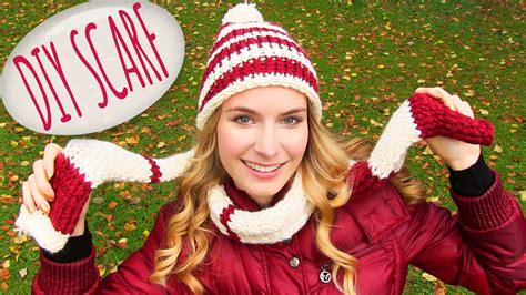 diy hairstyles sarabeautycorner how to knit a scarf diy scarf and a round knitting loom