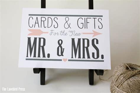 Cards And Gifts Printable Sign - printable wedding cards and gifts sign card sign gift sign personalized custom