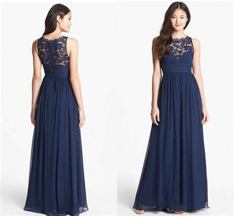 Navy Bridesmaid Dress by Navy Lace Bridesmaid Dresses Chiffon Bridesmaid Dresses