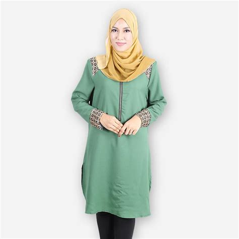 Maudi Blouse Jumbo Casual Blouse Casual blouse casual murah collar blouses