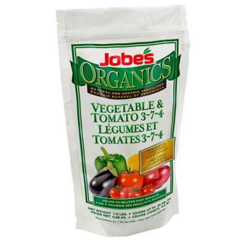 Jobe S Organic 1 5 Lb Granular Vegetable And Tomato Best Vegetable Garden Fertilizer