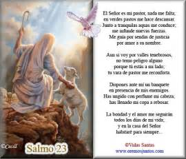 salmos ministerios iglesia de cristo salmo 23 catolico imagui