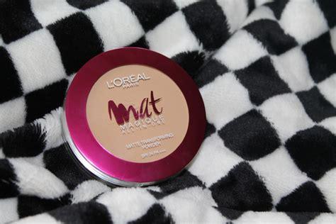 L Oreal Mat Magique All In One l oreal mat magique all in one matt transforming powder