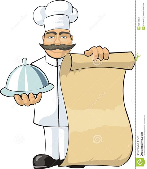 cook with cook with menu stock photos image 13570853