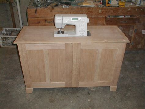 sewing cabinet i made for my wife s janome quilting sewing machine by garver lumberjocks com