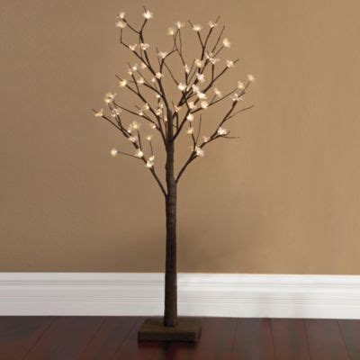 buy plug in led 22 inch lighted blossom tree from bed bath