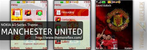 manchester united themes for whatsapp nokia 40s theme manchester united themereflex