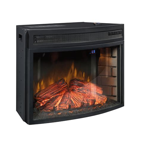 sauder fireplace insert paite 26in curved