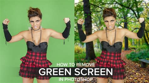 photoshop cs3 green screen tutorial how to remove green screen background in photoshop youtube