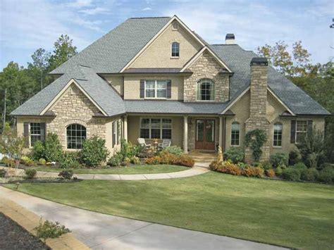 American Home Plans by New American House Plan With 4138 Square And 4